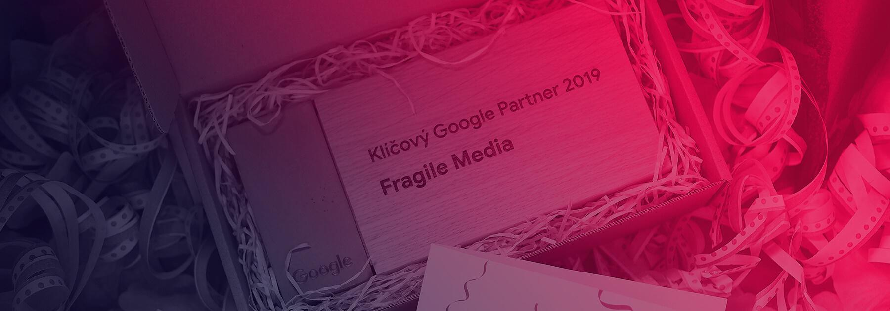 Získali jsme ocenění Klíčový Google Partner